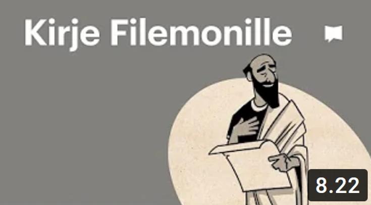 Osa 24 - Kirje Filemonille