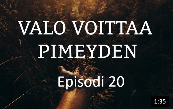 Osa 20 - Paavali lähtee Jerusalemiin.  Apostolien teot luku 20